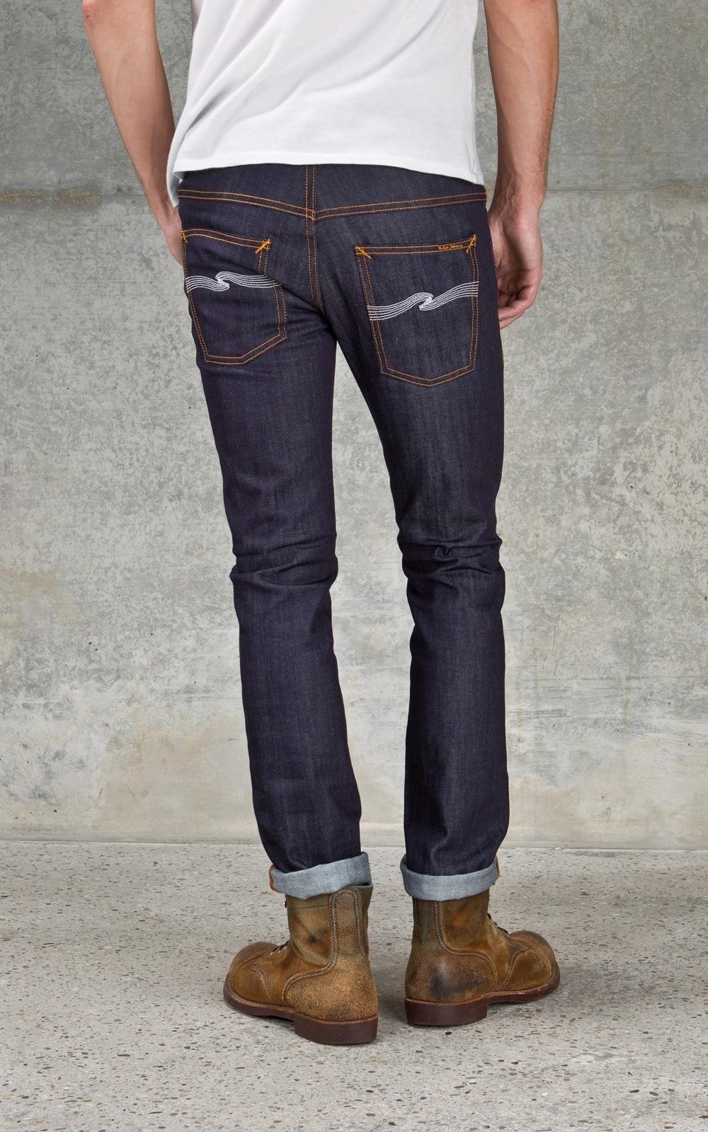 nudie jeans thin finn organic ecru embo manzotti wearlab. Black Bedroom Furniture Sets. Home Design Ideas