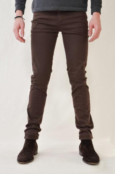 pantalone monkee genes classic skinny chocolate