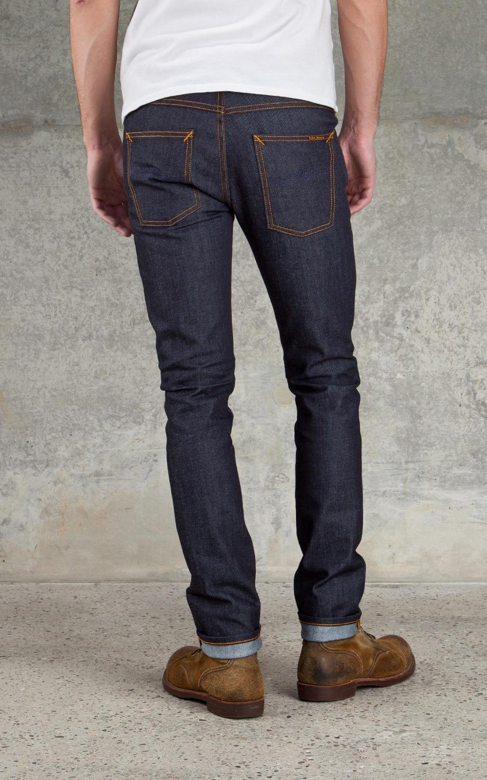 nudie jeans grim organic tim dry navy manzotti wearlab. Black Bedroom Furniture Sets. Home Design Ideas