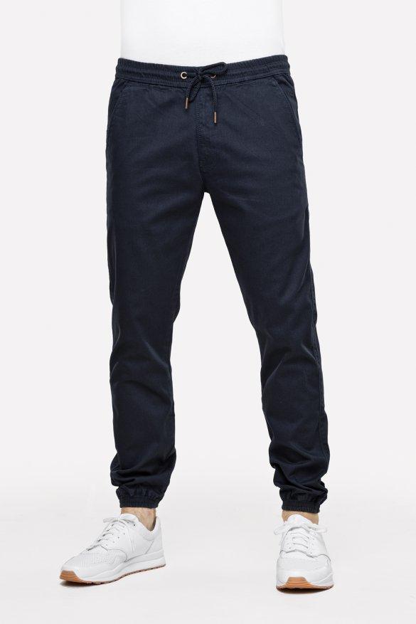pantalone jogger reel reflex twill navy blu