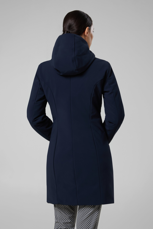 promo code 91965 1c544 RRD Donna Winter Long Lady Blu