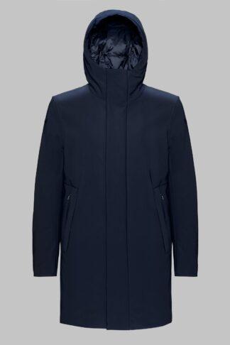 rrd uomo winter eskimo parka con cappuccio blu w19002