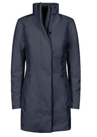 roberto ricci designs rrd winter trench lady blu cappotto tecnico donna