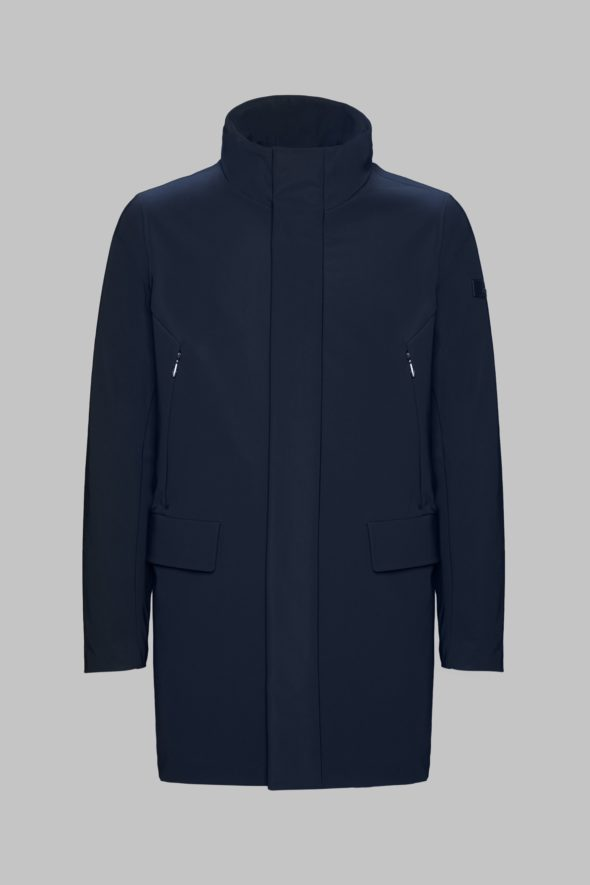 rrd uomo winter rain coat blu w19003