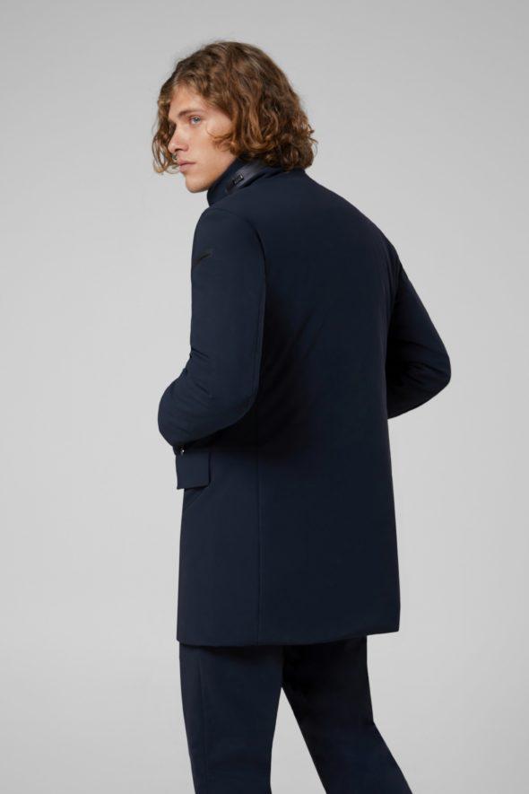 rrd uomo winter rain coat blu w19003