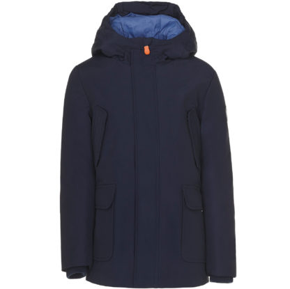 save the duck artic bambino parka p4318bcopy5 navy blue blu