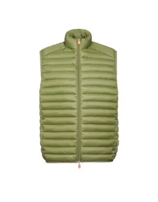 save the duck gilet d2841m giga6 mud green