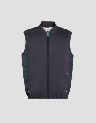 SAVE THE DUCK d8400m feel6 blue black gilet uomo Collezione recycled
