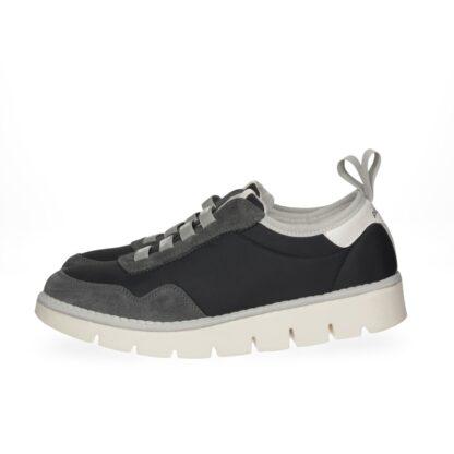 PANCHIC arianna P05 granonda nylon black scarpa donna bassa con elastico