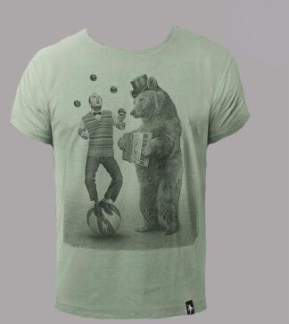 dirty velvet t-shirt stampa balancing act