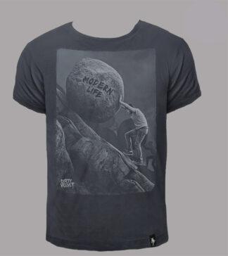 dirty velvet t-shirt stampa uphill struggle