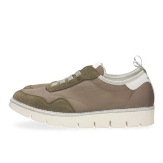 PANCHIC zeus P05 granonda nylon sabbia scarpa uomo bassa con elastico