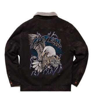giacca IUTER con stampa serigrafata sulla schiena