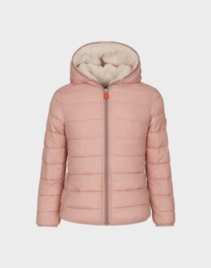 save the duck J3062G giubbino imbottito con cappuccio blush pink