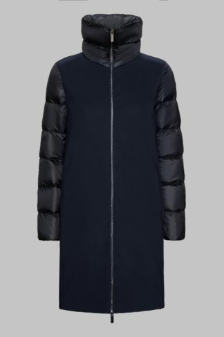 rrd winter hybrid coat cappottino colore nero w19535