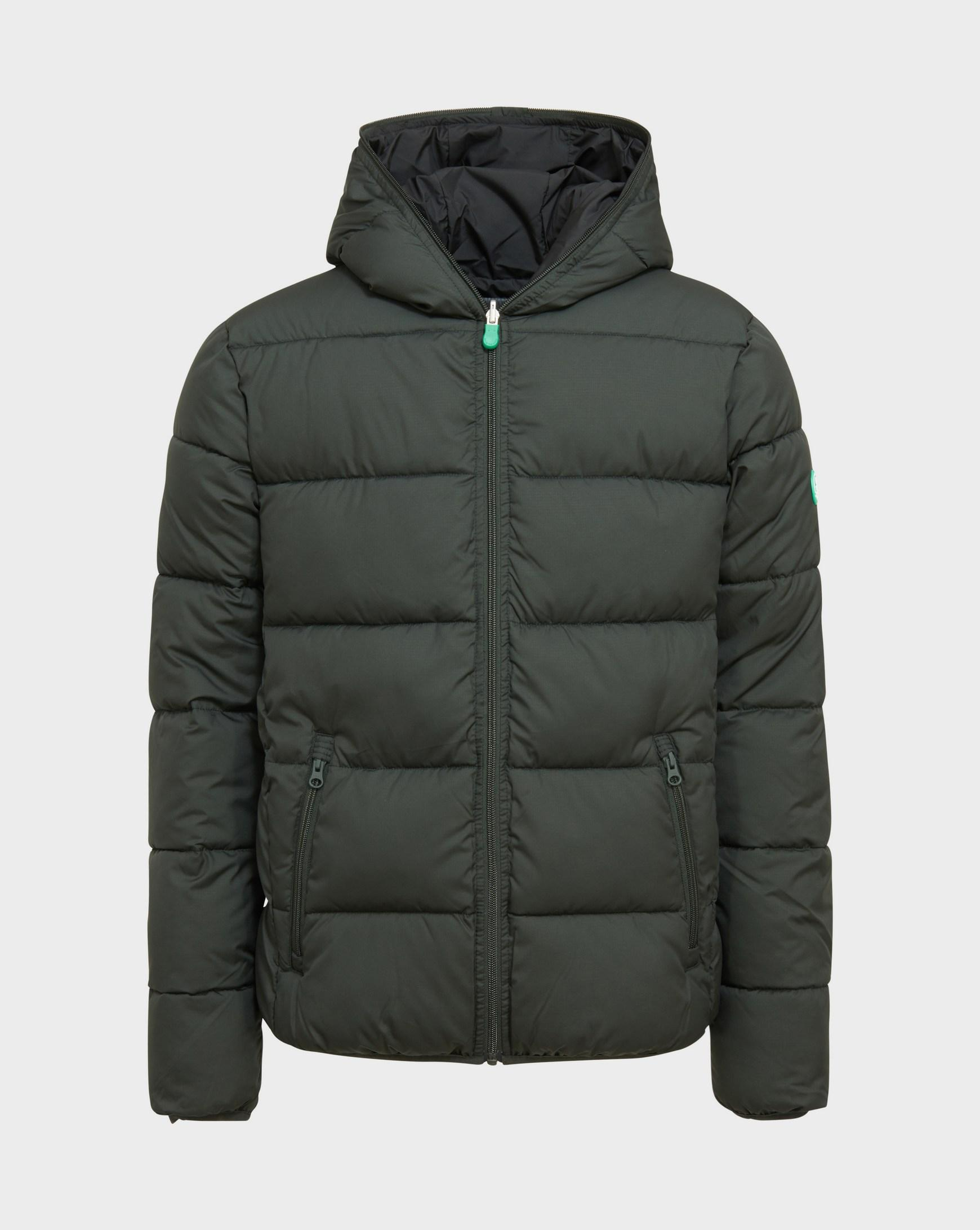 SAVE THE DUCK Uomo D3718M WARM7 Green Black