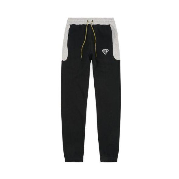 IUTER eurostyle pants black con coulisse e logo