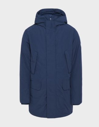 save the duck p4318 parka blu con interno staccabile