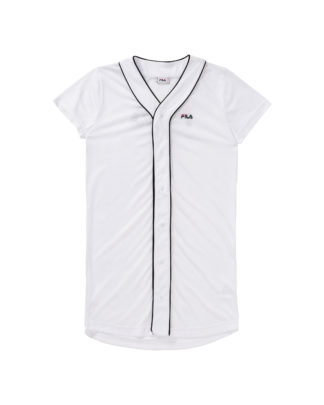 FILA Abito Donna Robin Button Baseball