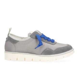 PANCHIC scarpe Uomo MOJITO P05 Granonda Nylon Suede Ash Royal