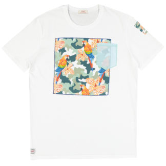 BOB maglietta Rosy A129 Bianco