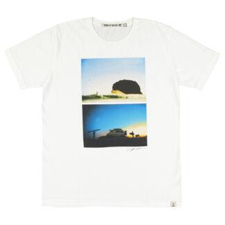 IRON AND RESIN Maglietta Sunset Bianco