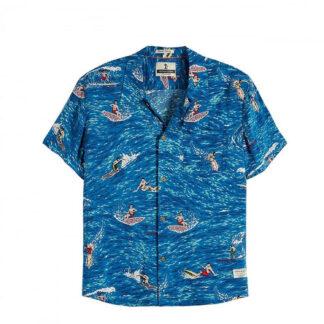 camicia stampa surf