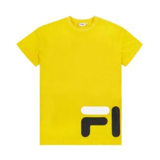 fila maglietta eamon tee giallo