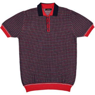 retois polo 9043 119 red rosso manica corta