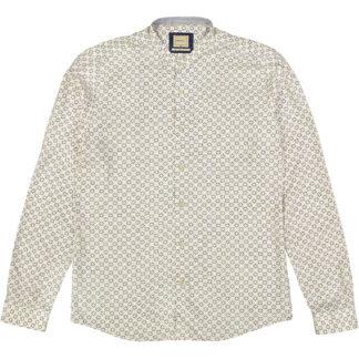 camicia collo coreana manica lunga stampa margherite webb & scott