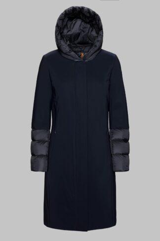 rrd donna cappottino con cappuccio winter hybrid zarina lady nero w19534