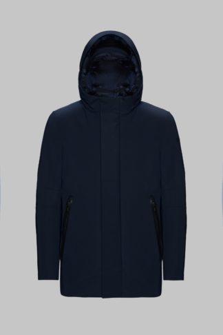 RRD uomo winter parka mdm blu 19005 con cappuccio