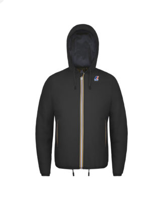 K-WAY Uomo Le Vrai 3.0 Claude Padded Nero K00A7N0 k02