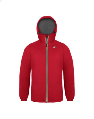 K-WAY Uomo Le Vrai 3.0 Claude Padded Rosso K00A7N0 K08