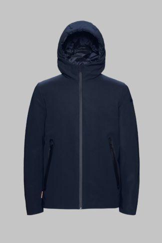 rrd uomo giubbino blu con cappuccio winter storm w19001