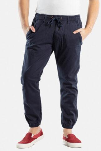 reell pantoloni jogger blu scuro