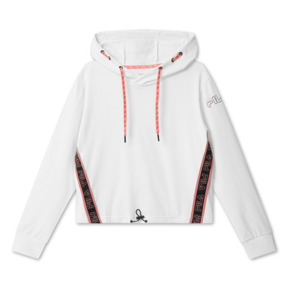 fila felpa afia cropped 683041 M67 bright white