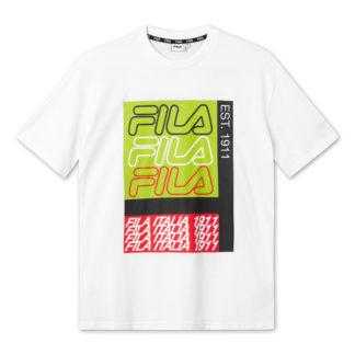 fila maglietta caradoc 687684 M67 bright white