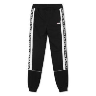 fila uomo pantalone tevin 687699 E09 black bright white