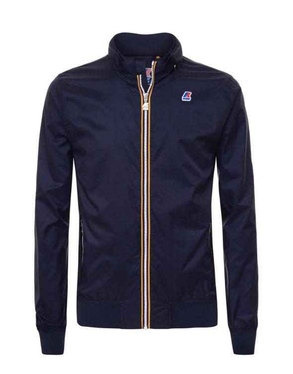 k way giubbino uomo amaury nylon jersey k009fn0 K89 blue depht