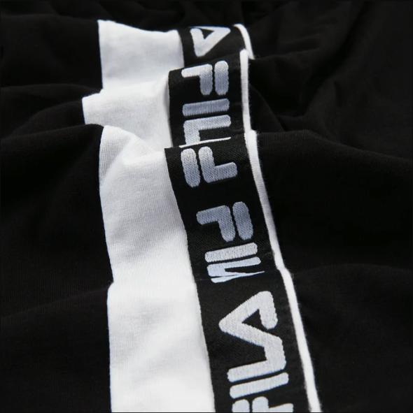 fila t-shrt tobal 687709 E09 black bright white