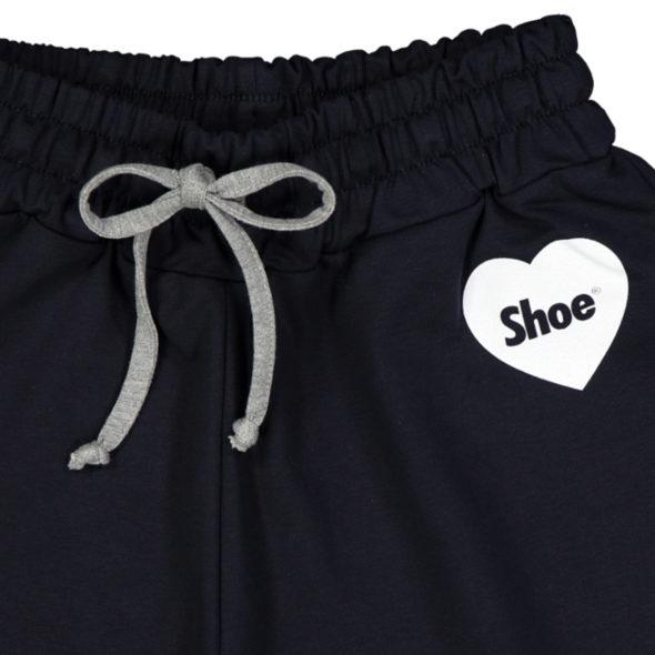 shoe pantaloncino corto star2067 jersey blu logo cuore