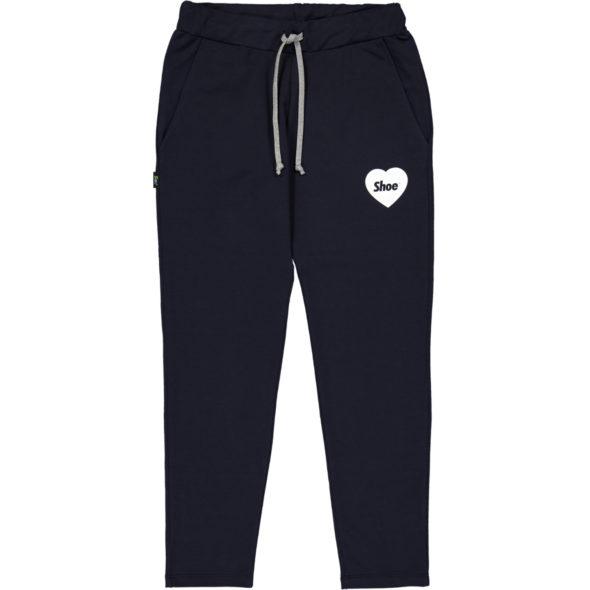 shoe pantalone philipa2067 jersey blu logo cuore
