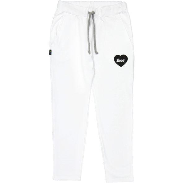 shoe pantalone philipa2067 jersey bianco logo cuore
