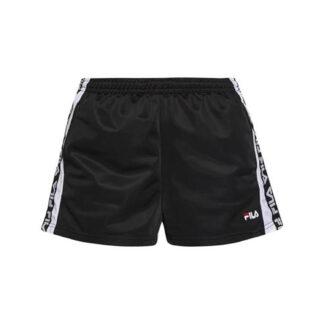 fila pantaloncino donna tarin short 687689 e09 black bright white