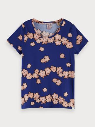 scotch soda maglietta stampa floreale manica corta 156226 0222 combo f