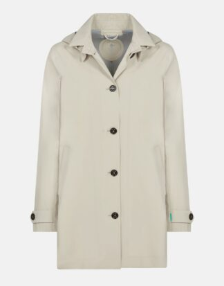 save the duck impermeabile donna d4225W grinx beige