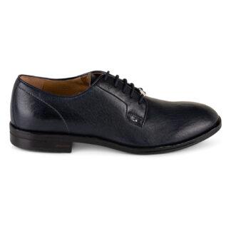 scarpe brimarts fondo cuoio derby 310608 sa05 safari blu