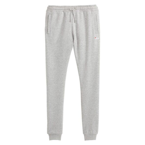 fila pantalone uomo in felpa modello edan grigio chiaro 687473 b13 light grey melange bros