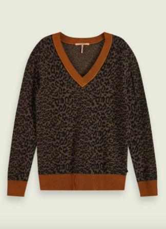 scotch-soda-maglione-animalier-scollo-v-manica-159219-combo-e-0221